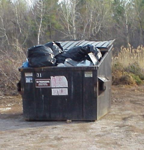 Lot H Dumpster